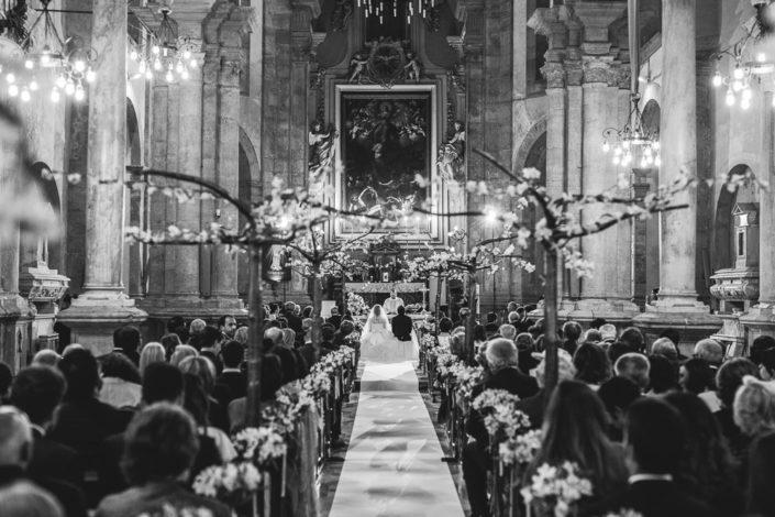 Scenografia matrimonio chiesa