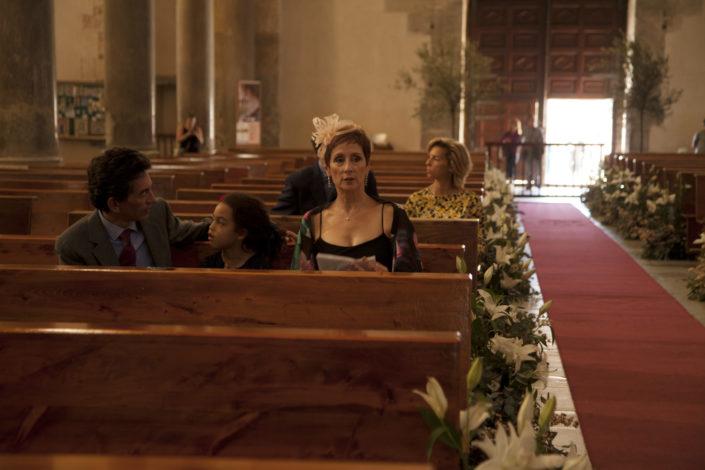 Ospiti in chiesa